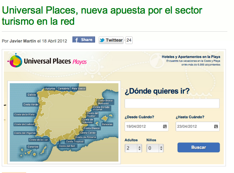 Universal Places en Loogic