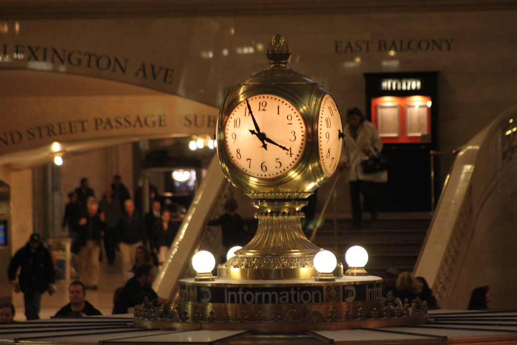 Reloj de Grand Central Station