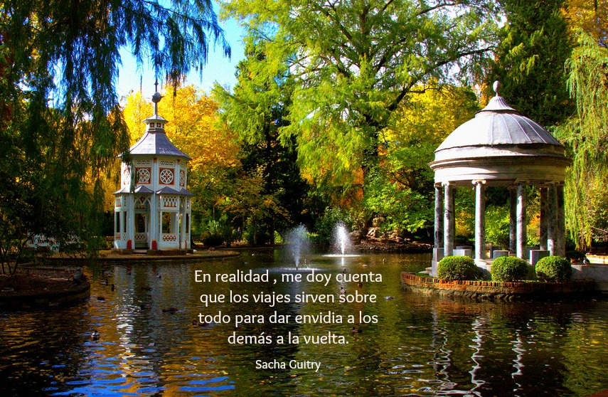 #1000frasesdeviaje - Sacha Guitry
