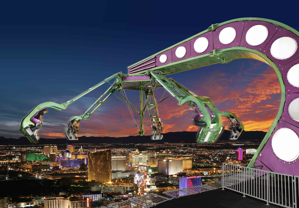 Hotel Stratosphere - Las Vegas Insanity the ride