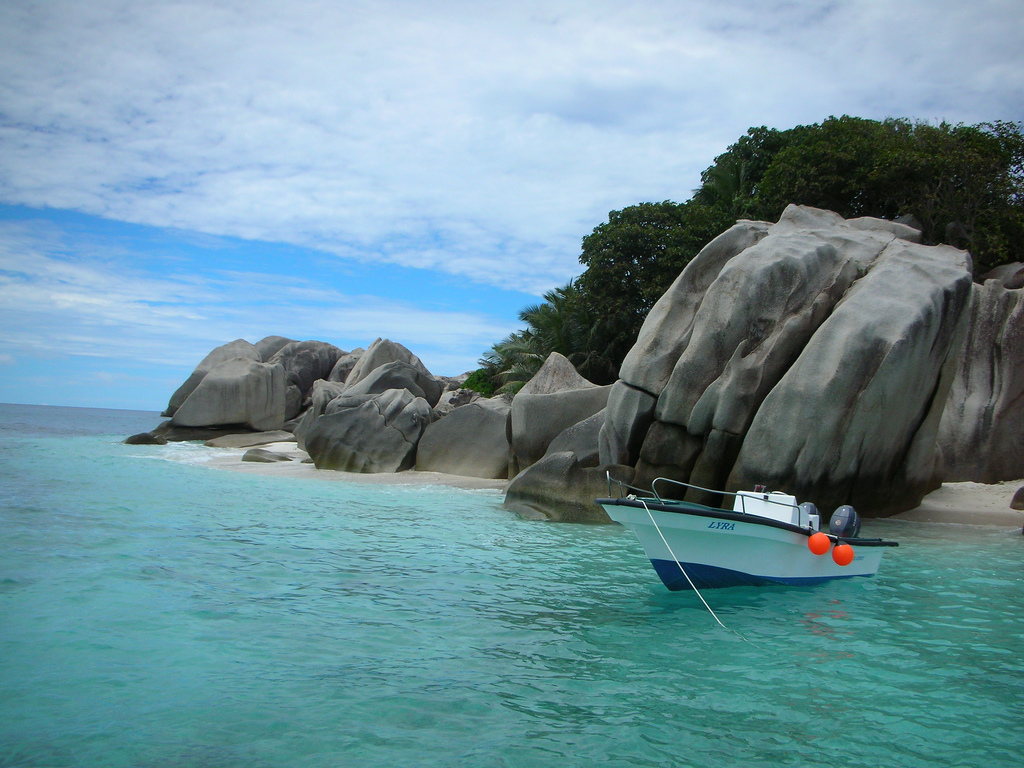 Playas de La Digue