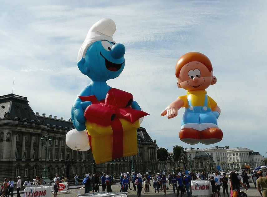 Balloons Day's Parade - Fiesta del Cómic - Bruselas